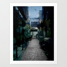 Dark Alley Art Print