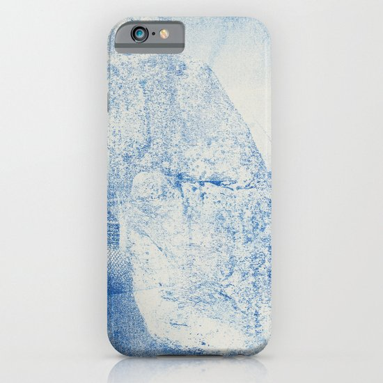 Gum arabic print of rock iPhone & iPod Case