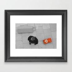 Manchild Framed Art Print
