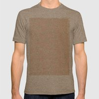 Aida Folch Mens Fitted Tee Tri-Coffee SMALL