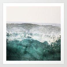 montagne liquide Art Print