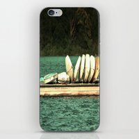 Boats on the Dock iPhone & iPod Skin