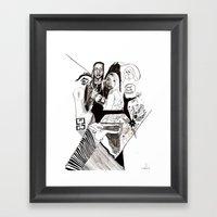 Des24 Framed Art Print