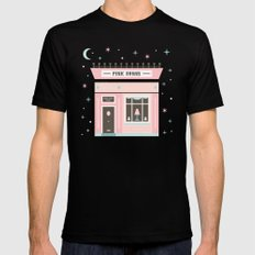 Pink Sugar Bakery  SMALL Mens Fitted Tee Black