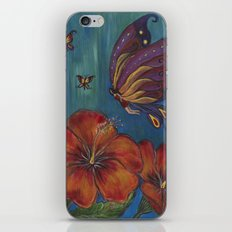 Butterfly Fairy iPhone & iPod Skin
