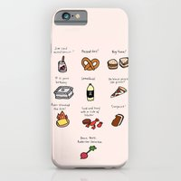 iPhone & iPod Case featuring Foods of The Office by Tyler Feder