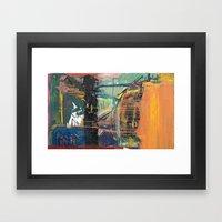 Solid Detail Framed Art Print