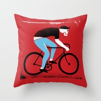 Ride Or Die No. 1 Throw Pillow