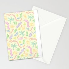 Pastel Bugs Stationery Cards