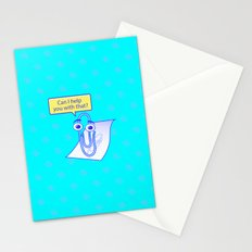 Clippy Stationery Cards