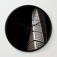 Turning Torso Wall Clock