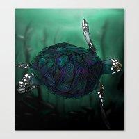 Sea Turtle Canvas Print