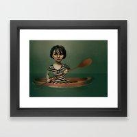 Denial Framed Art Print