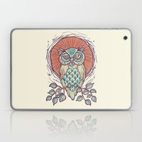Owl On Branch Laptop & iPad Skin