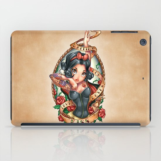 Waiting For Loves True Kiss iPad Case