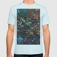 Altered Life Mens Fitted Tee Light Blue SMALL