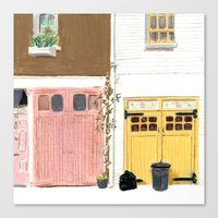 EBURY MEWS Canvas Print