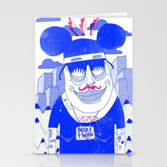 Michael Mouse Stationery Card