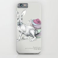 iPhone & iPod Case featuring Tea with Hatter by Michelle Freer