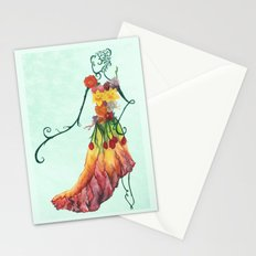 Female Floral Stationery Cards
