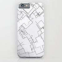 iPhone & iPod Case featuring Plan abstract by Crazy Thoom