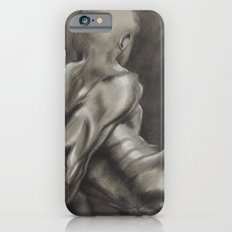Nude Male Figure Study, Black and White.  iPhone 6s Slim Case