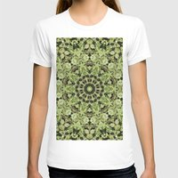 Mariguandala Womens Fitted Tee White SMALL