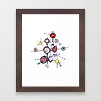 I'm Lost In My World Wid… Framed Art Print