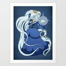 Rule 63: Ice Queen Art Print