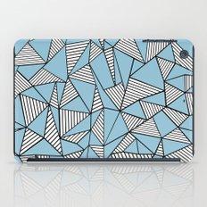 Ab Blocks Blue #2 iPad Case