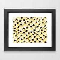 Penguins I Framed Art Print