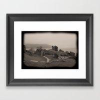 Urquhart Castle, Lock Ne… Framed Art Print
