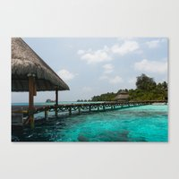 Welcome to paradise Canvas Print