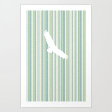 Spread Eagle Art Print