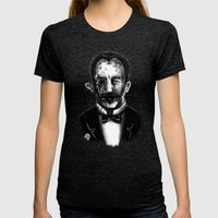 Zombie Marti Womens Fitted Tee Tri-Black SMALL