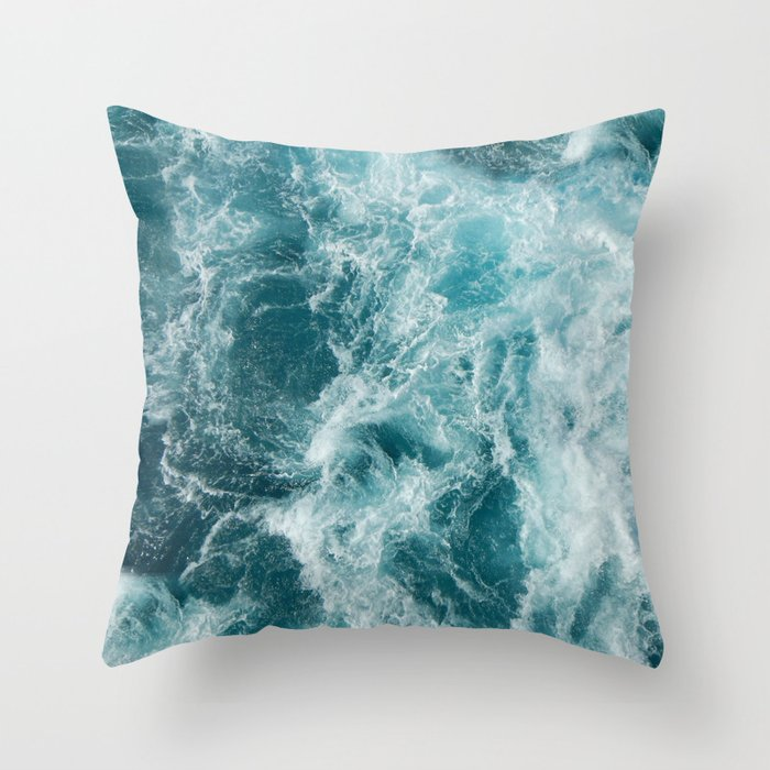 Sea Throw Pillow by Studio VII Society6