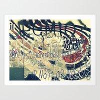Elliott Smith Memorial W… Art Print