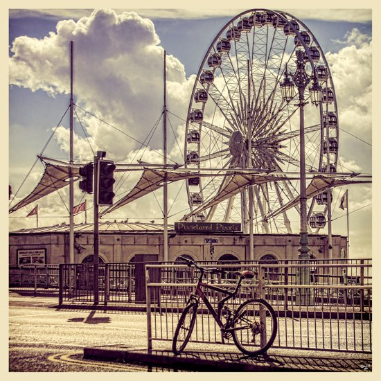 The Brighton Wheel Art Print