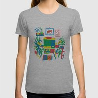 Risograph Studio Womens Fitted Tee Athletic Grey SMALL