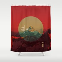 Yama Shower Curtain