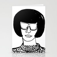 Faces Of Fashion Part De… Stationery Cards