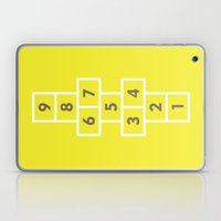 Hopscotch Yellow Laptop & iPad Skin