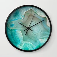Wall Clock featuring THE BEAUTY OF MINERALS 2 by Catspaws