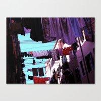 Hanging Laundry pt1 Canvas Print