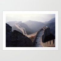 Great Wall Art Print