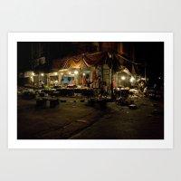 Damascus Market, Syria Art Print