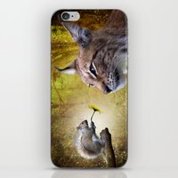 Canadian Lnx and Squirrel iPhone & iPod Skin