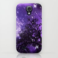 Trees, Stars And Lavende… Galaxy S4 Slim Case