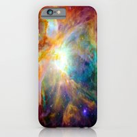 iPhone Cases featuring Orion Nebula by AngelNumbers