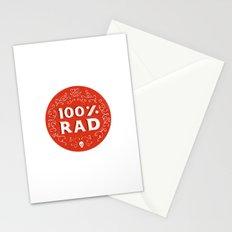 100% Rad Stationery Cards
